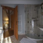 Shower to Coach House Lake View Bedroom