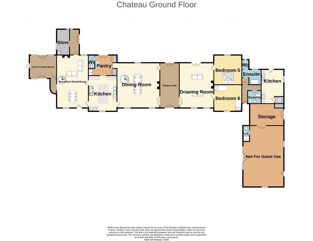 Chateau Lacanaud Ground Floor